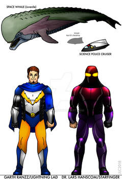 Lightning Lad and Starfinger