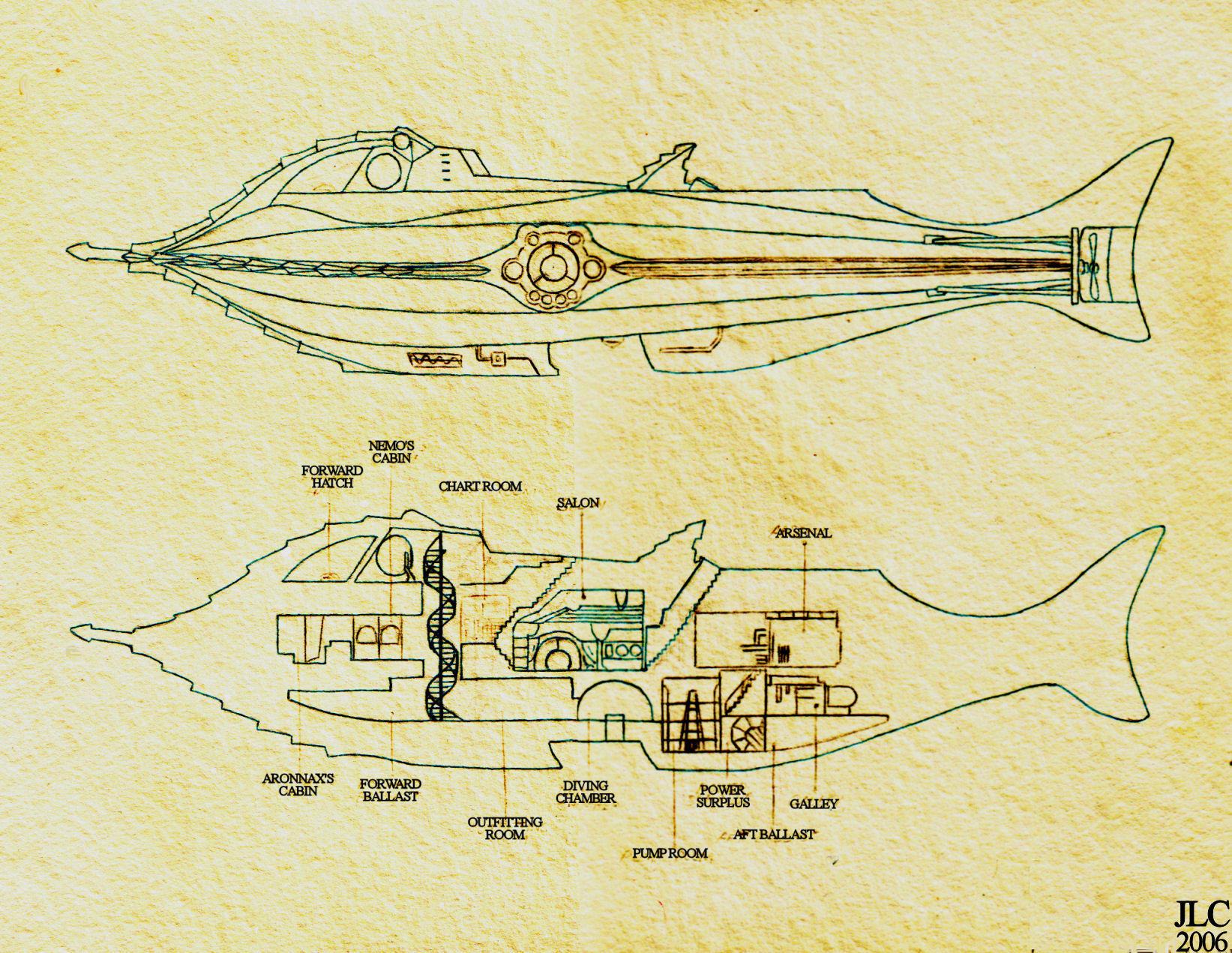 Disney nautilus interior blueprints joy studio design for Nautilus garden designs