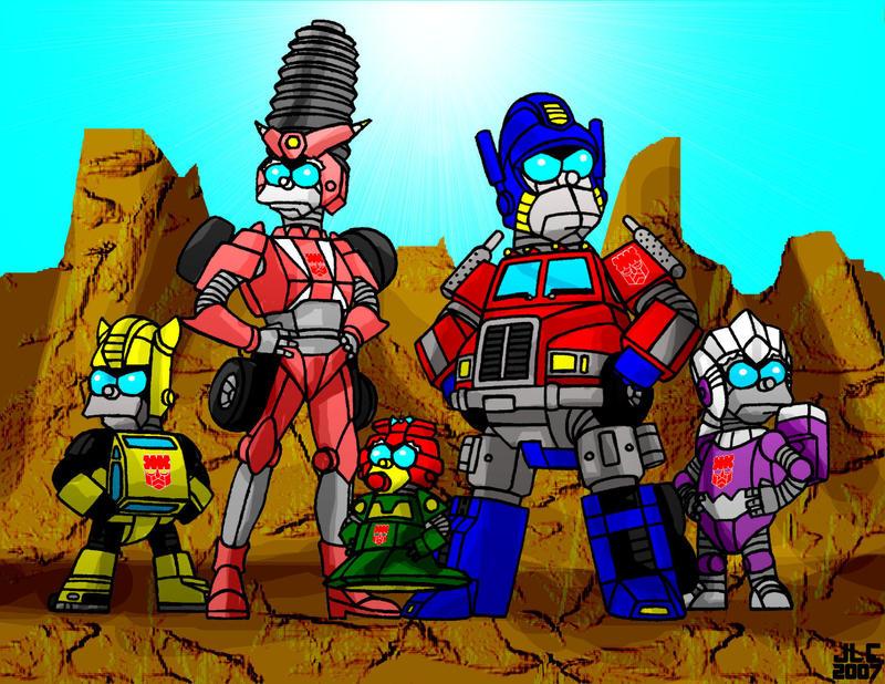 Simpsformers: Springobots by Jochimus