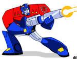 TF Animated Optimus