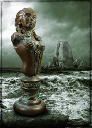 The Lady of Innsmouth Cold Cast Bronze