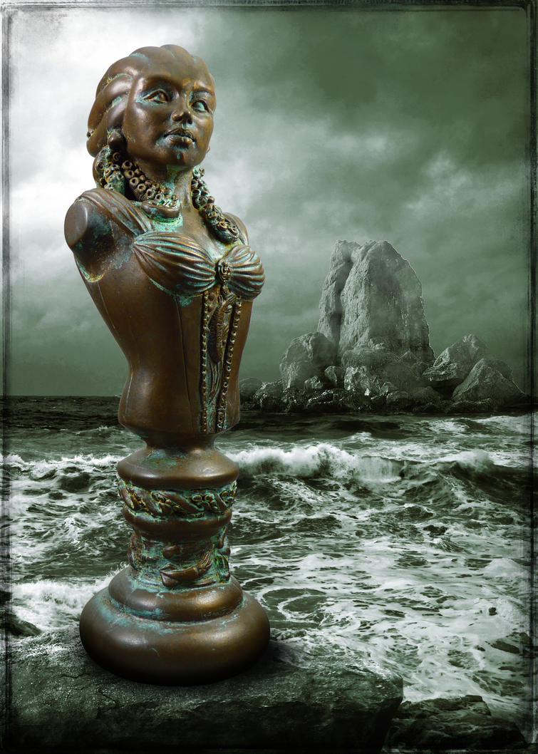 The Lady of Innsmouth Cold Cast Bronze by Noadi