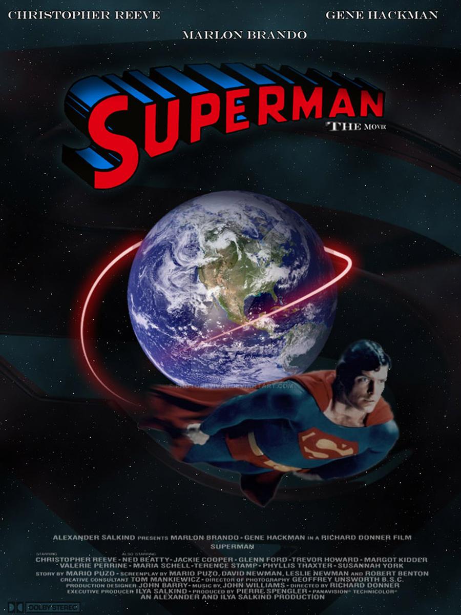 Superman 1978 Film poster by PhotoRevival on DeviantArt