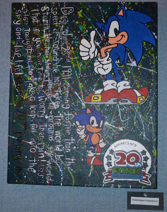 Sonic Splatter paint by OneScarredKid