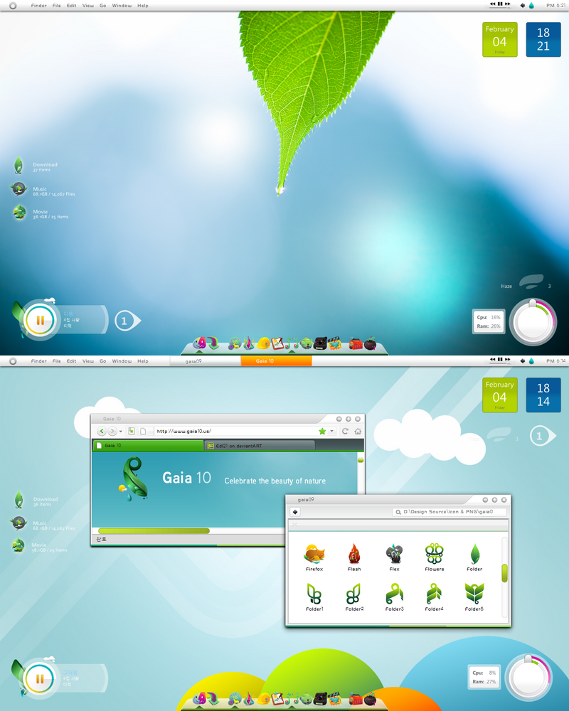 Complete, Gaia10 for WinXP by Edl21