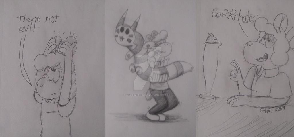 Sheepy sketches 1