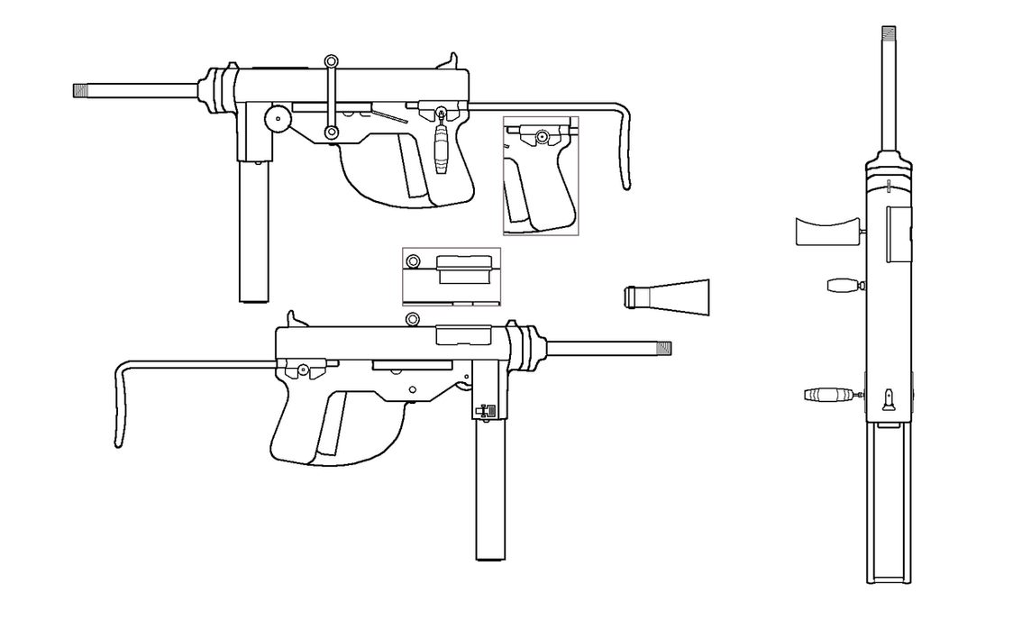 M3 grease gun for fallout equestria by sgtmuffin on deviantart m3 grease gun for fallout equestria by sgtmuffin malvernweather Images