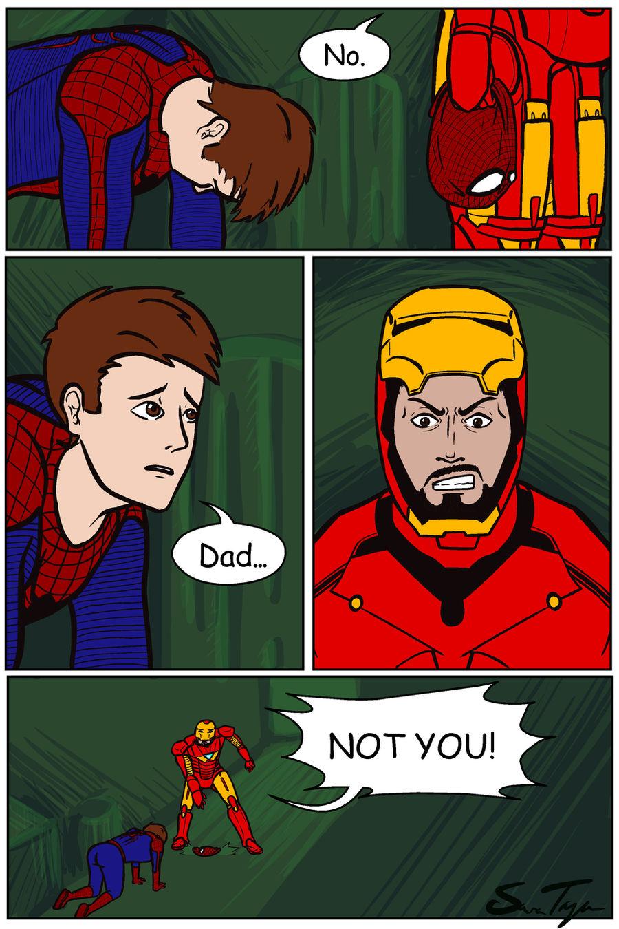 Spider-man Revealed by Cera-Tay on DeviantArt