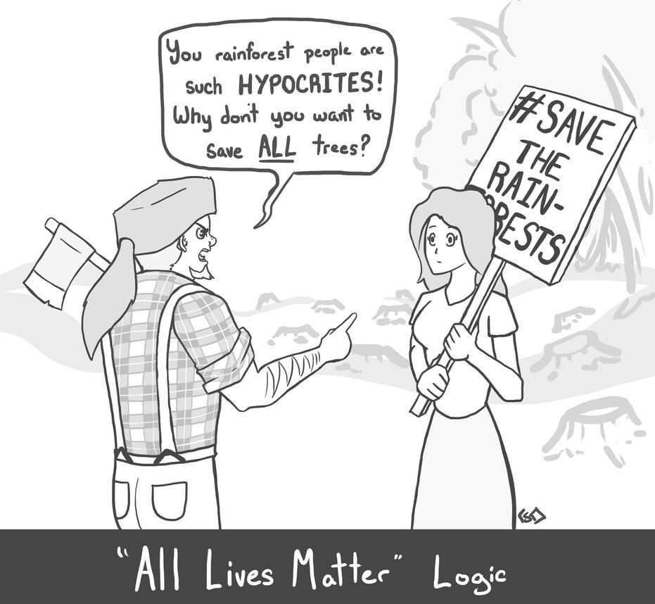 political cartoon all lives matter by cera tay on deviantart