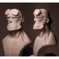 Hellboy bust by Ivar-L