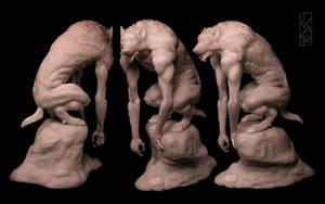 Werewolf 1:8 statue image 1 by Ivar-L