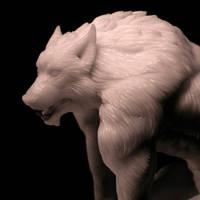 Werewolf 1:8 statue image 2 by Ivar-L