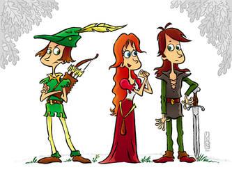Robin Hoods by Ivar-L