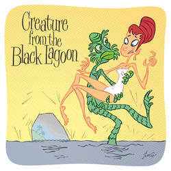 Creature from the Black Lagoon by Ivar-L