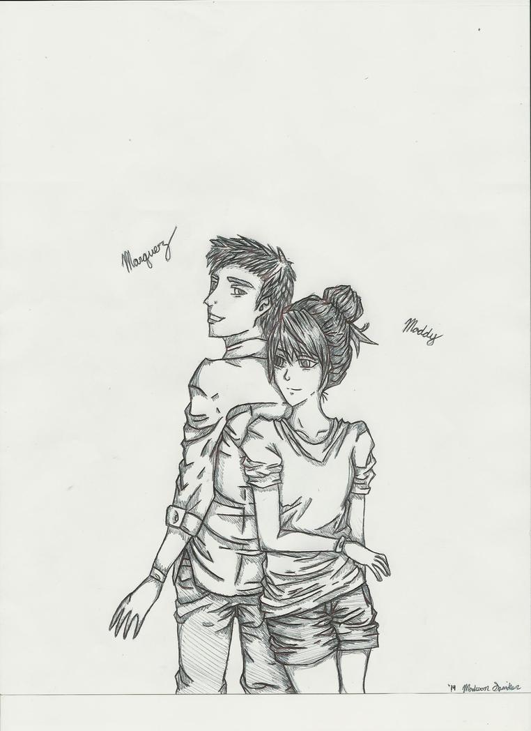 My Boyfriend and I by greckels