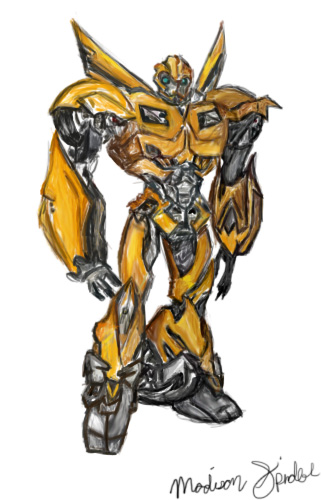 Bumble Bee -Transformers Prime by greckels