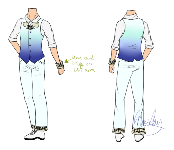 Male artist corner outfit design entry by sheenaxlover