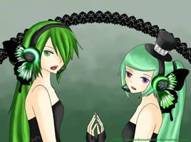 UTAU - Magnet - Midori and Tei by Inuyashacatlover