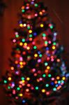 Christmas tree bokeh by fotografka