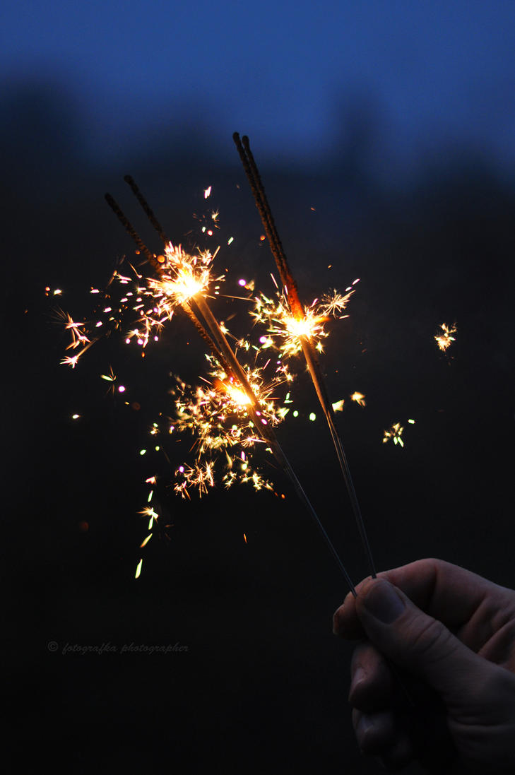 Sparklers by fotografka