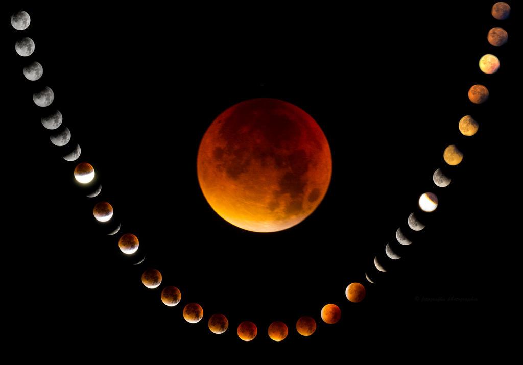 Moon Eclipse by fotografka