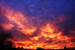 The Sky Is On Fire by fotografka