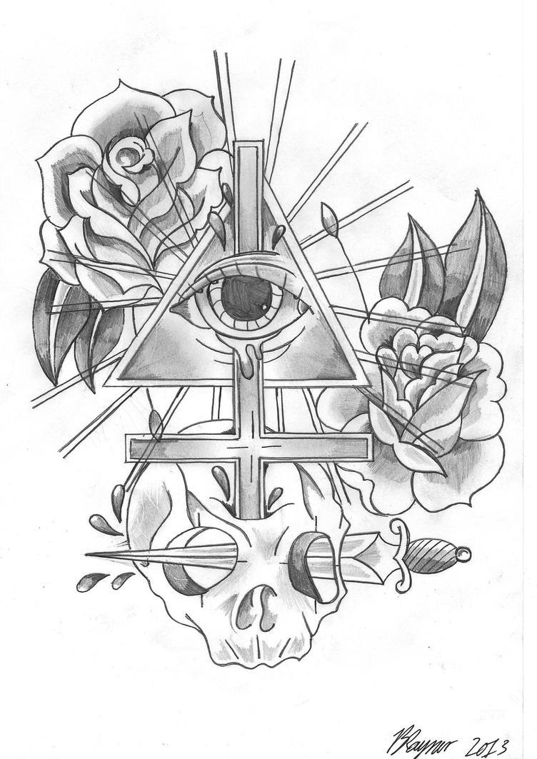 Illuminati Tattoos Designs Illuminati
