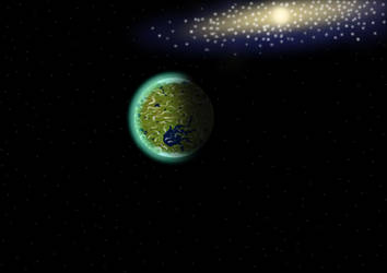 Kepler-62f by Mgodmode
