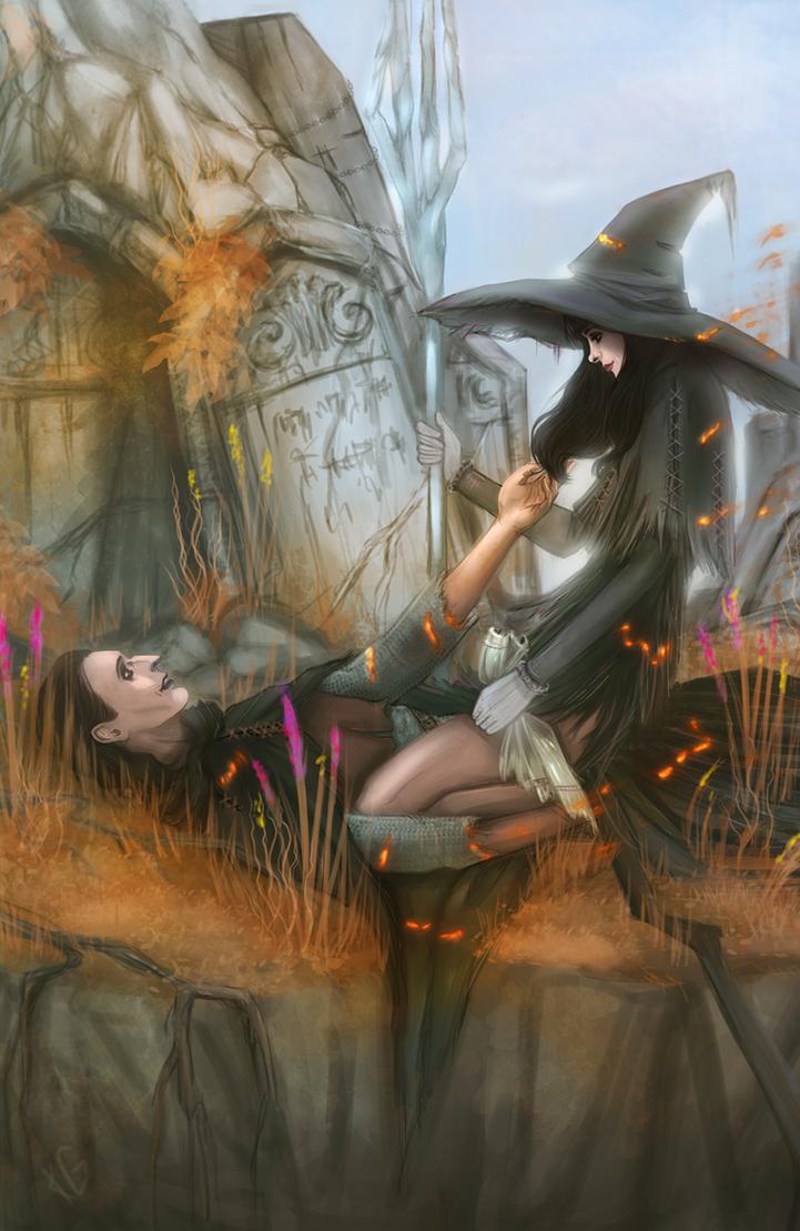 Thief and witch by NellielTu