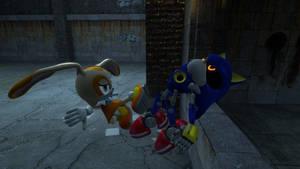 Cream VS Metal Sonic