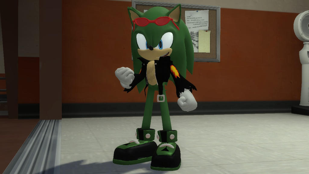 Garry`s Mod 13 Sonic exe Player Model - deltaxsonar