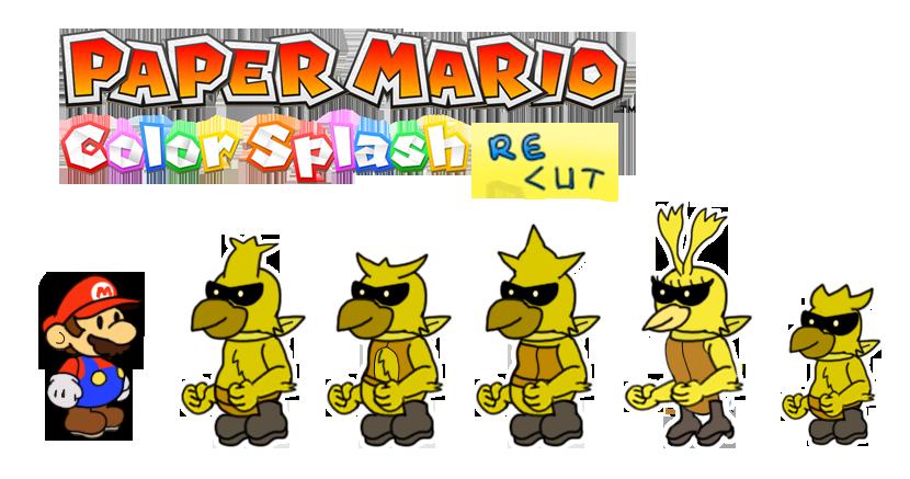 Yellow Rescue Squad (Color Splash Recut) by DerekminyA