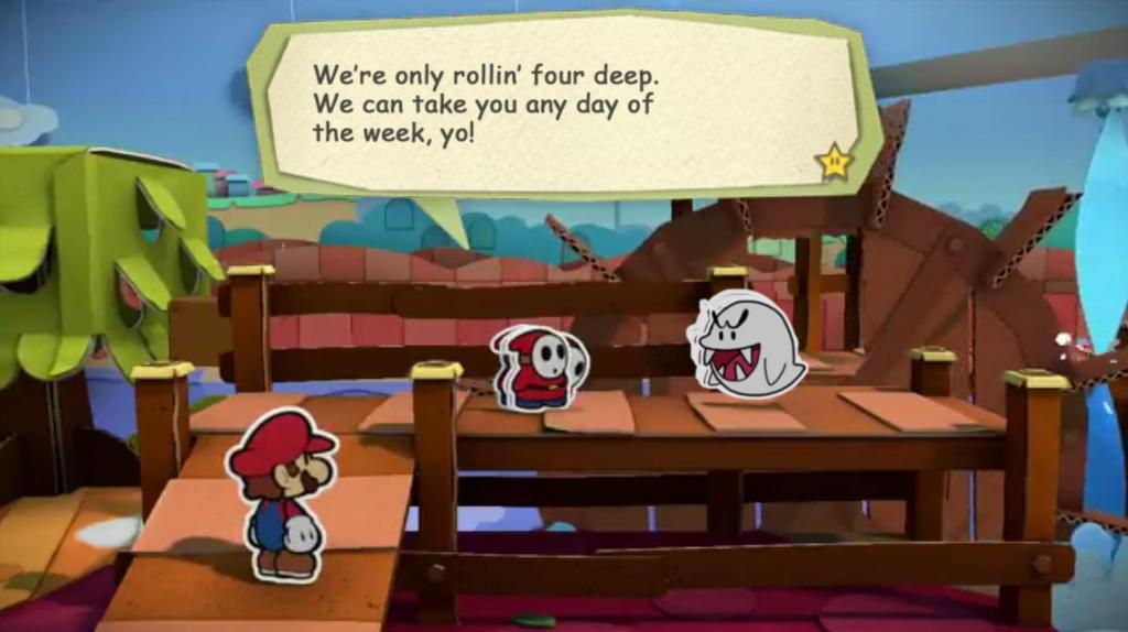 Paper Mario Color Splash Recut altered image 2 by DerekminyA