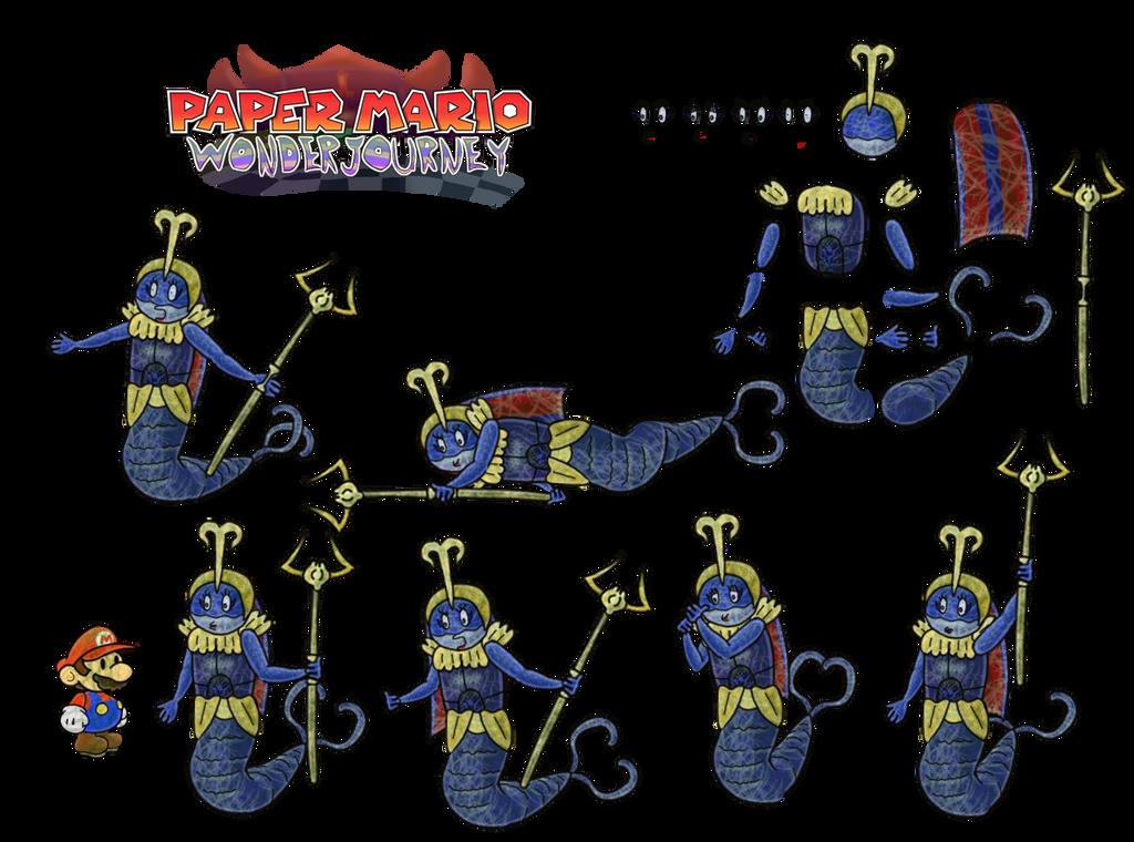 Lady Quarrina (Paper Mario Wonder Journey) by DerekminyA