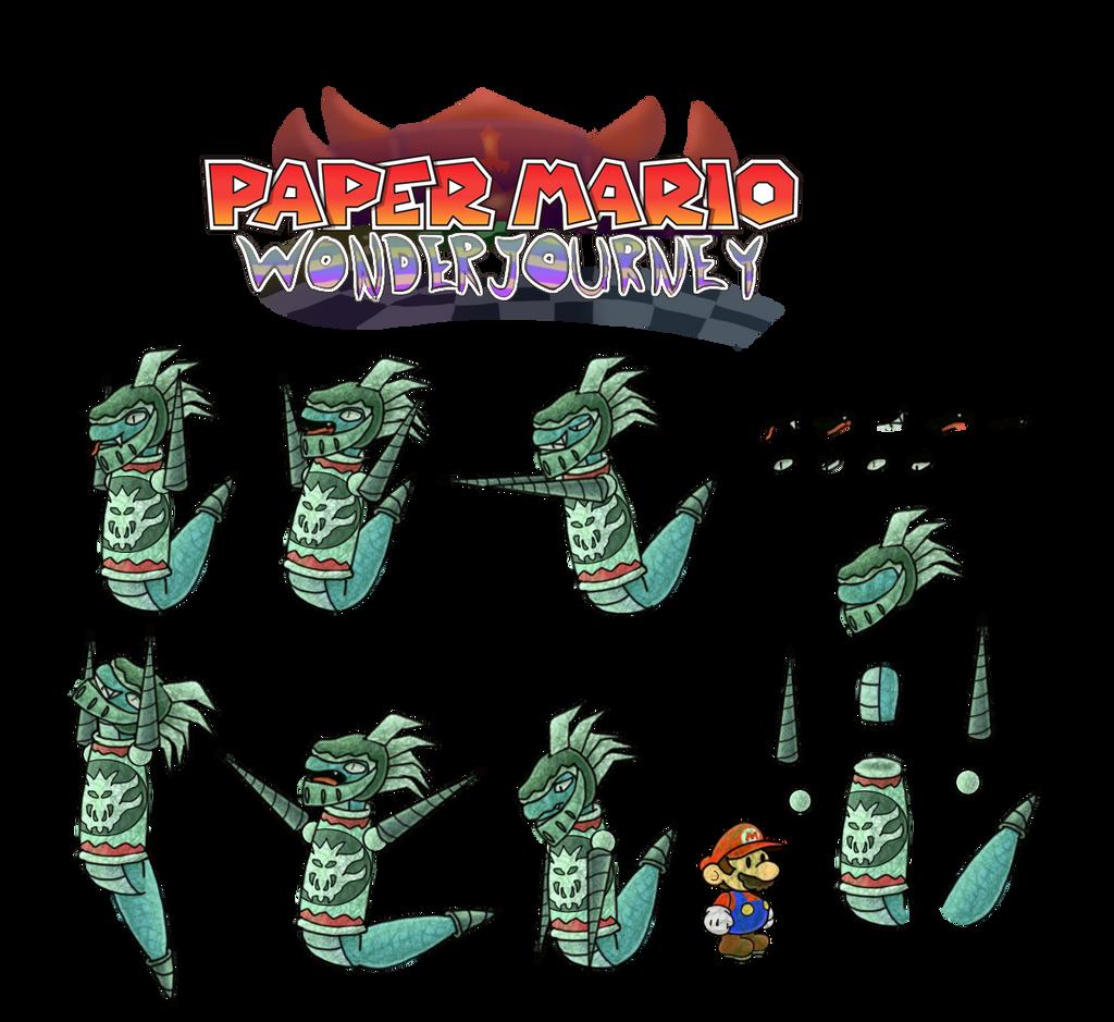 Sir Mordrat (Paper Mario Wonder Journey) by DerekminyA