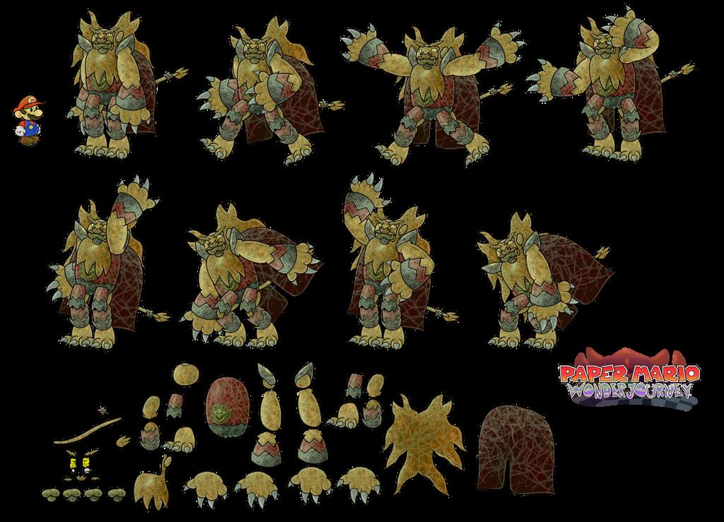 King Argulus (Paper Mario Wonder Journey) by DerekminyA