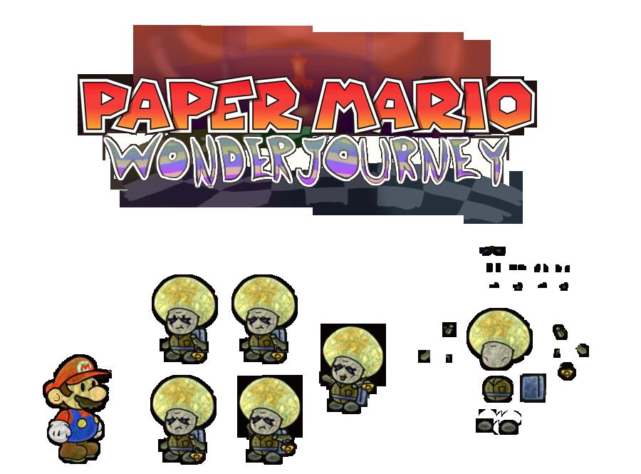 Chal (Paper Mario Wonder Journey) by DerekminyA