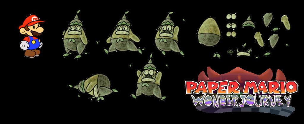 Gobcaps (Paper Mario Wonder Journey) by DerekminyA