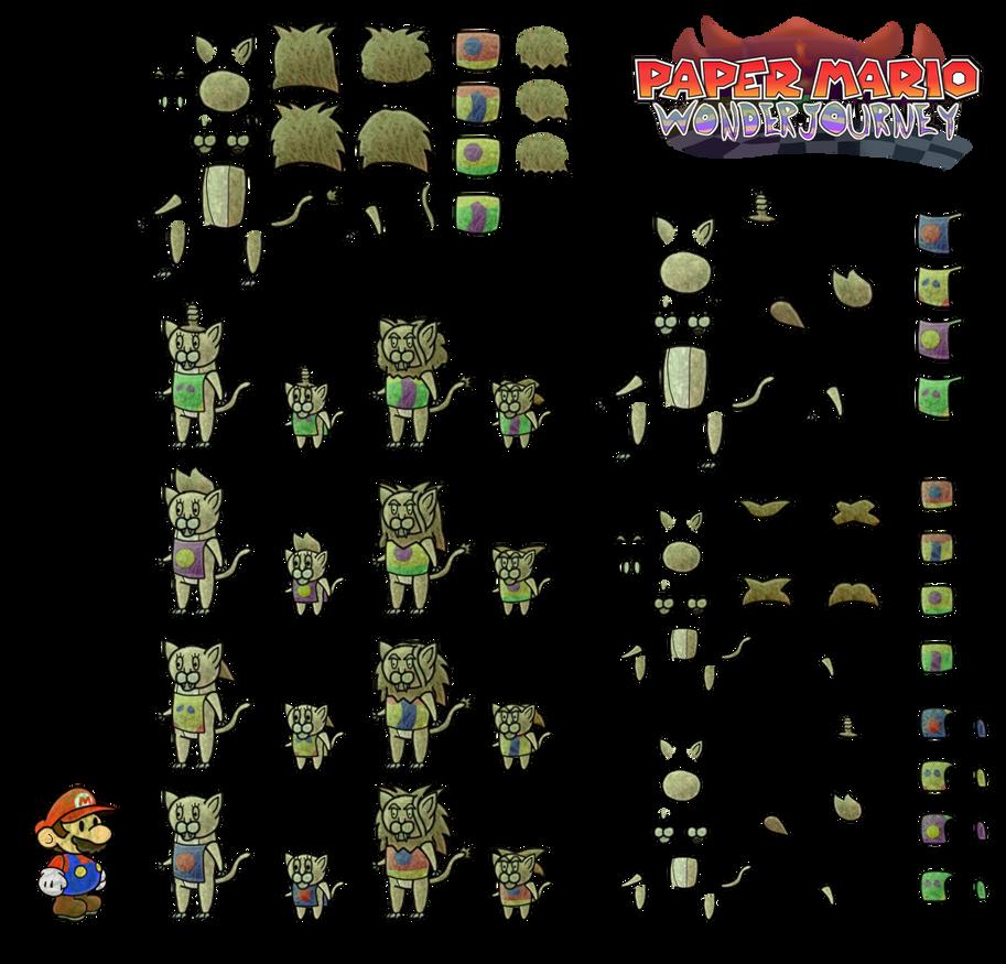 Lyrars (Paper Mario Wonder Journey) by DerekminyA