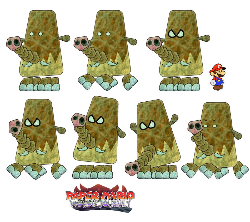 Muths (Paper Mario Wonder Journey) by DerekminyA