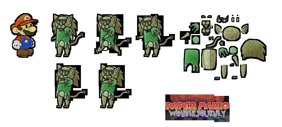 Percy (Paper Mario Wonder Journey) by DerekminyA