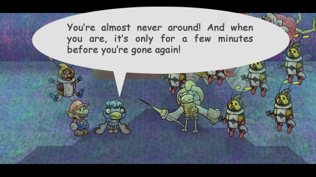 Paper Mario Wonder Journey fake screenshot 2 by DerekminyA