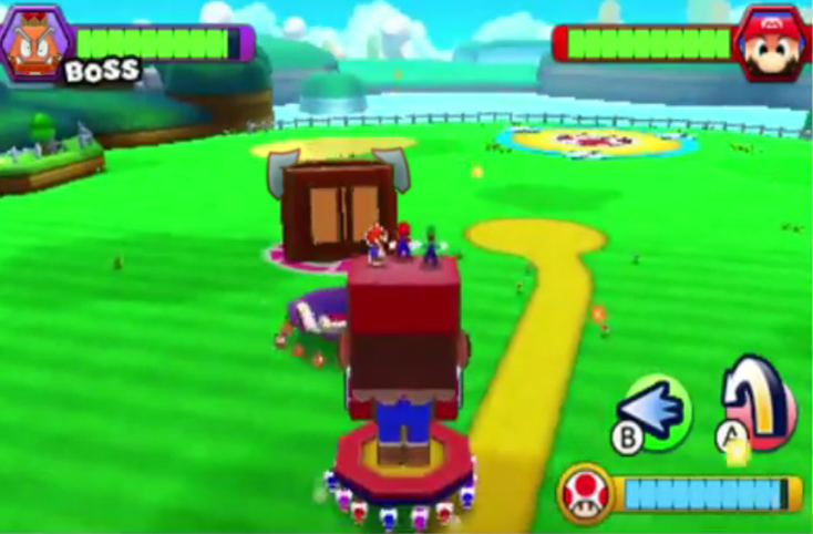 Mario and Luigi Paper Jam Recut altered pic 2 by DerekminyA