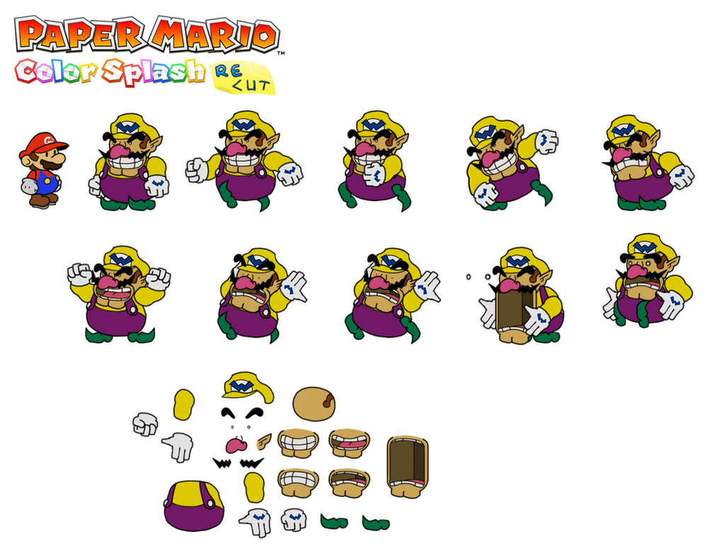 paper wario Paper wario is a jerk/video-game character/youtuber/adventure time fan/canadian he made his video-game debut in paper wario: the movie: the video-game: the animated.
