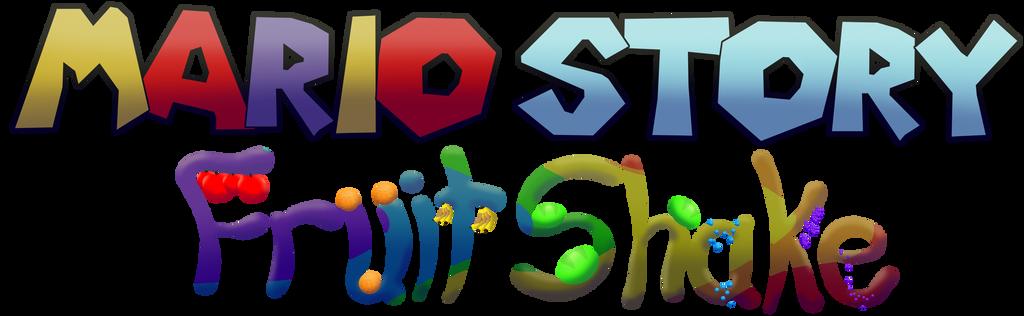 Mario Story Fruit Shake logo by DerekminyA