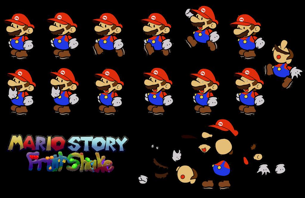 Mario (Mario Story Fruit Shake) by DerekminyA