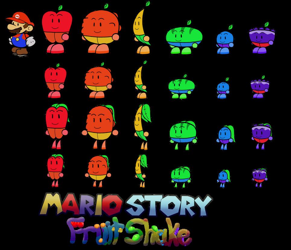 Fruutas (Mario Story Fruit Shake) by DerekminyA