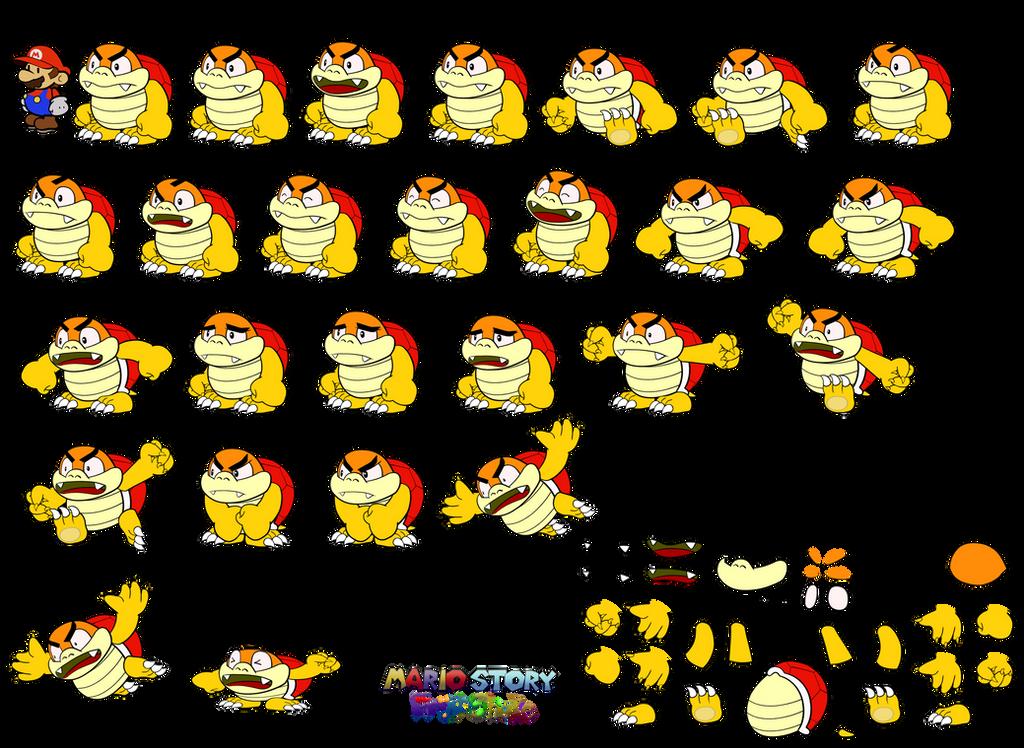 Boom Boom (Mario Story Fruit Shake) by DerekminyA