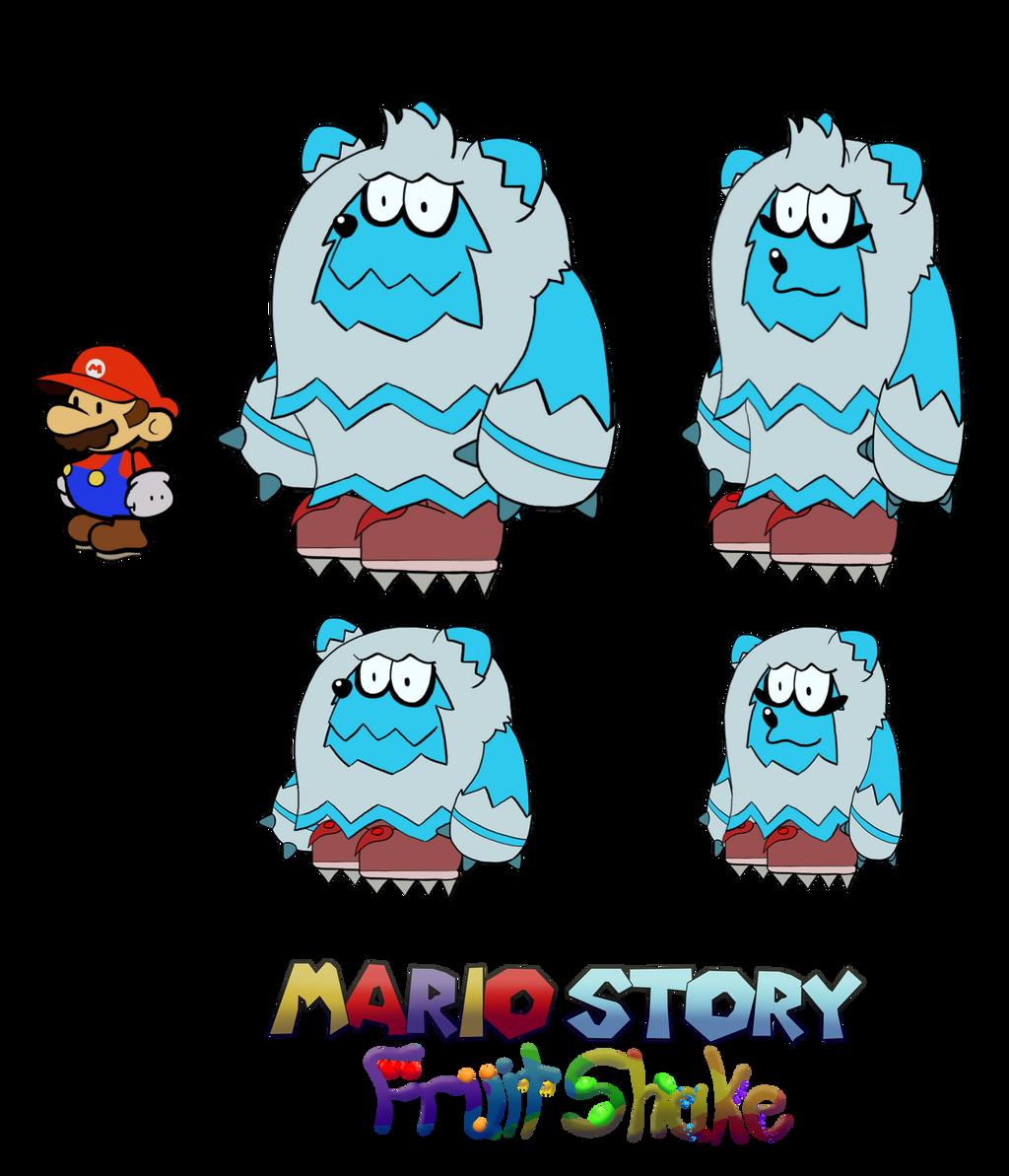 Grizzetis (Mario Story Fruit Shake) by DerekminyA