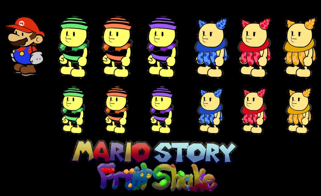 Nokis (Mario Story Fruit Shake) by DerekminyA